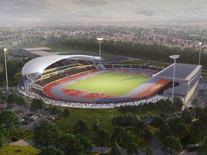 The Alexander Stadium is being revamped.