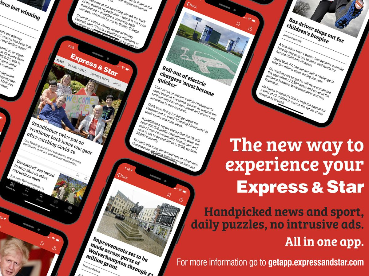 The Express & Star's new app contains handpicked news, sport, puzzles and opinion and is free of advertising