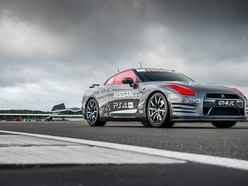 We've been 'driving' a full-size Nissan GT-R via remote control