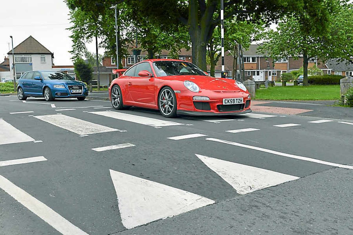 The £118,000 car that runs the risk of damage when driven over speed bumps