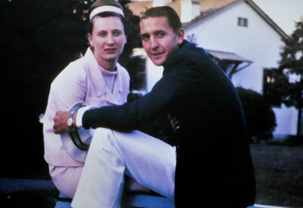 Hugh Porter and Anita Lonsbrough met at the 1964 Olympics in Tokyo