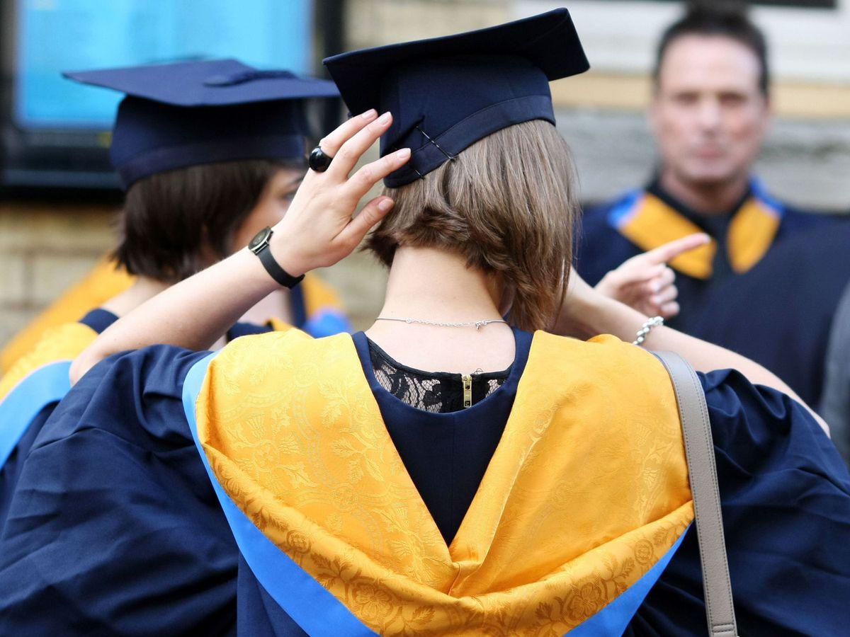 Job market requiring degrees