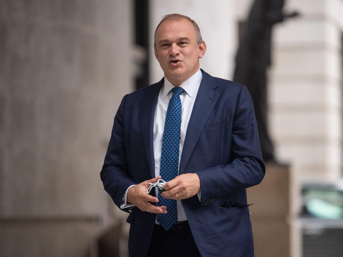 Liberal Democrat leaders Sir Ed Davey