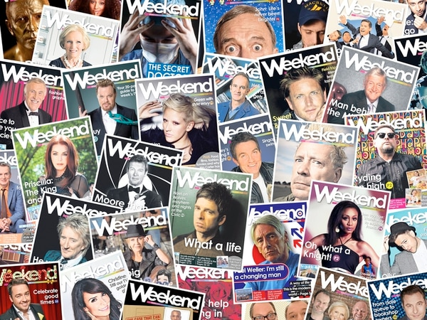 Weekend's 5th birthday: Look back at our star interviews including Rod Stewart, Noel Gallagher and Paul Weller