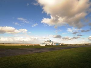 Halfpenny Green Airport, also known as Wolverhampton airport, in Bobbington