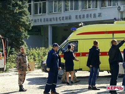 Student gunman kills 19, wounds 50 at school in Crimea