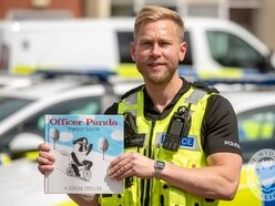 Bobby pens books on crime-fighting Panda inspired by West Midlands Police