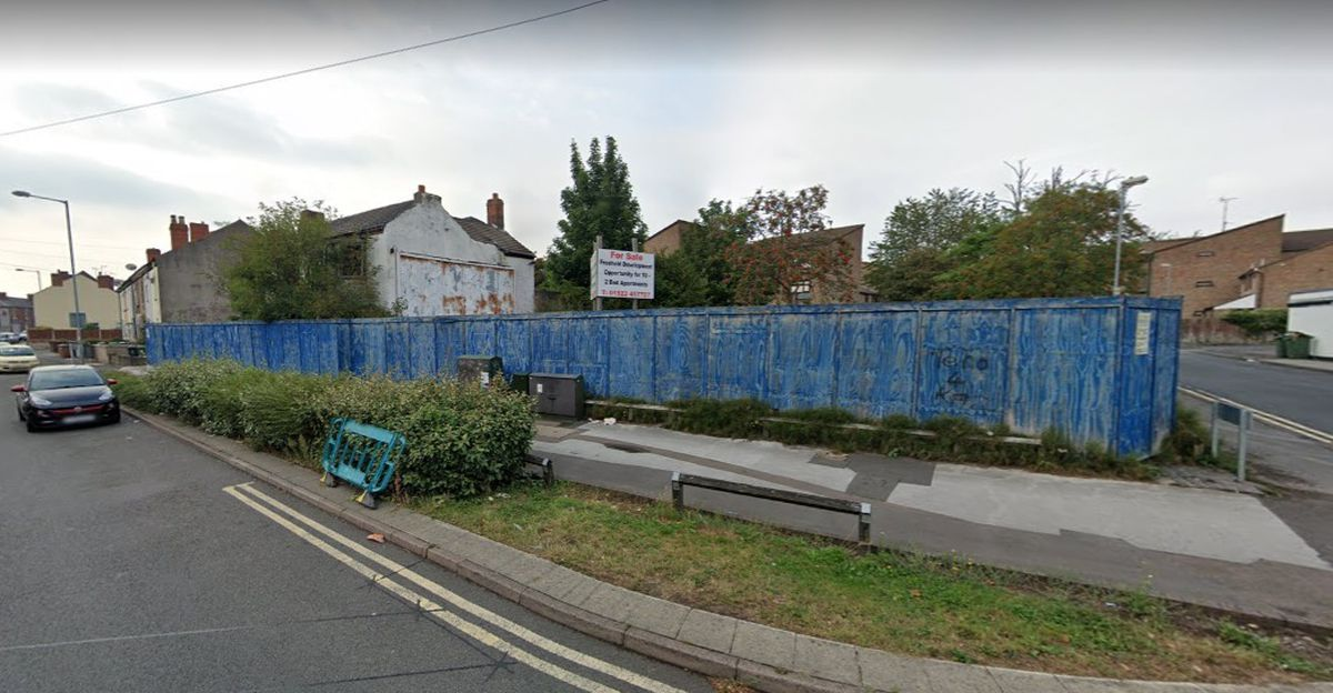 The site of the former Royal Navy club in Elmore Green Road, Bloxwich. PIC: Google