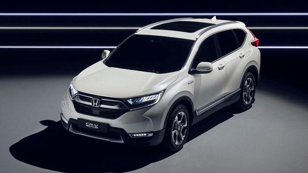 New CR-V Hybrid Prototype hits Frankfurt — Hybridised Honda SUV