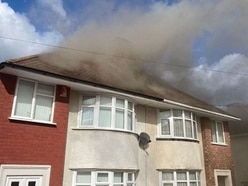 Twenty firefighters tackle Dudley house blaze