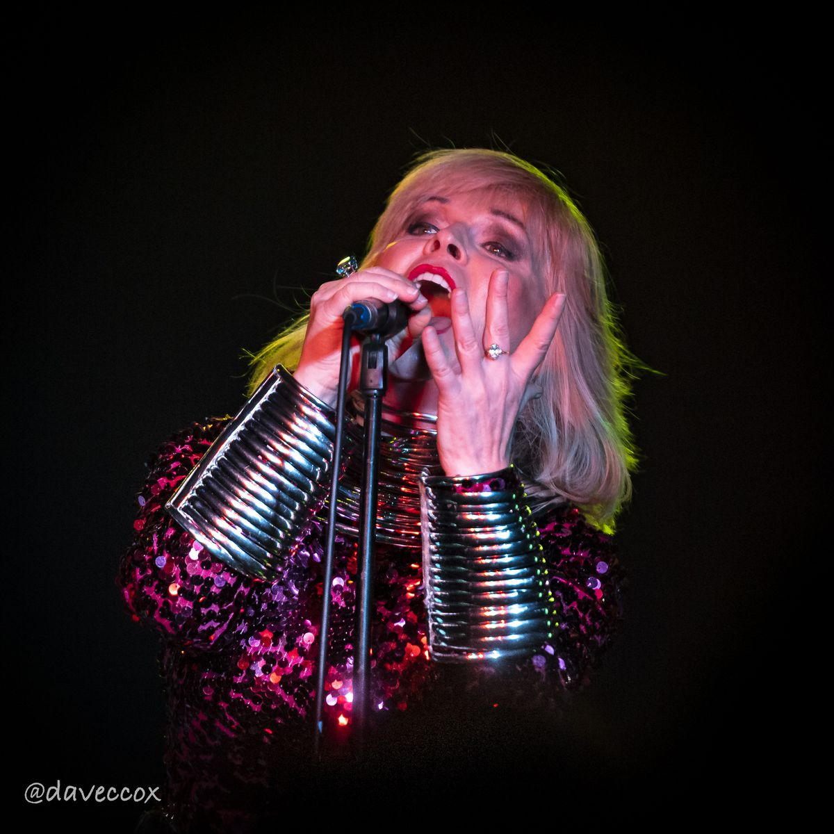 Toyah Willcox delighted fans at the Slade Rooms. Photo: Dave Cox