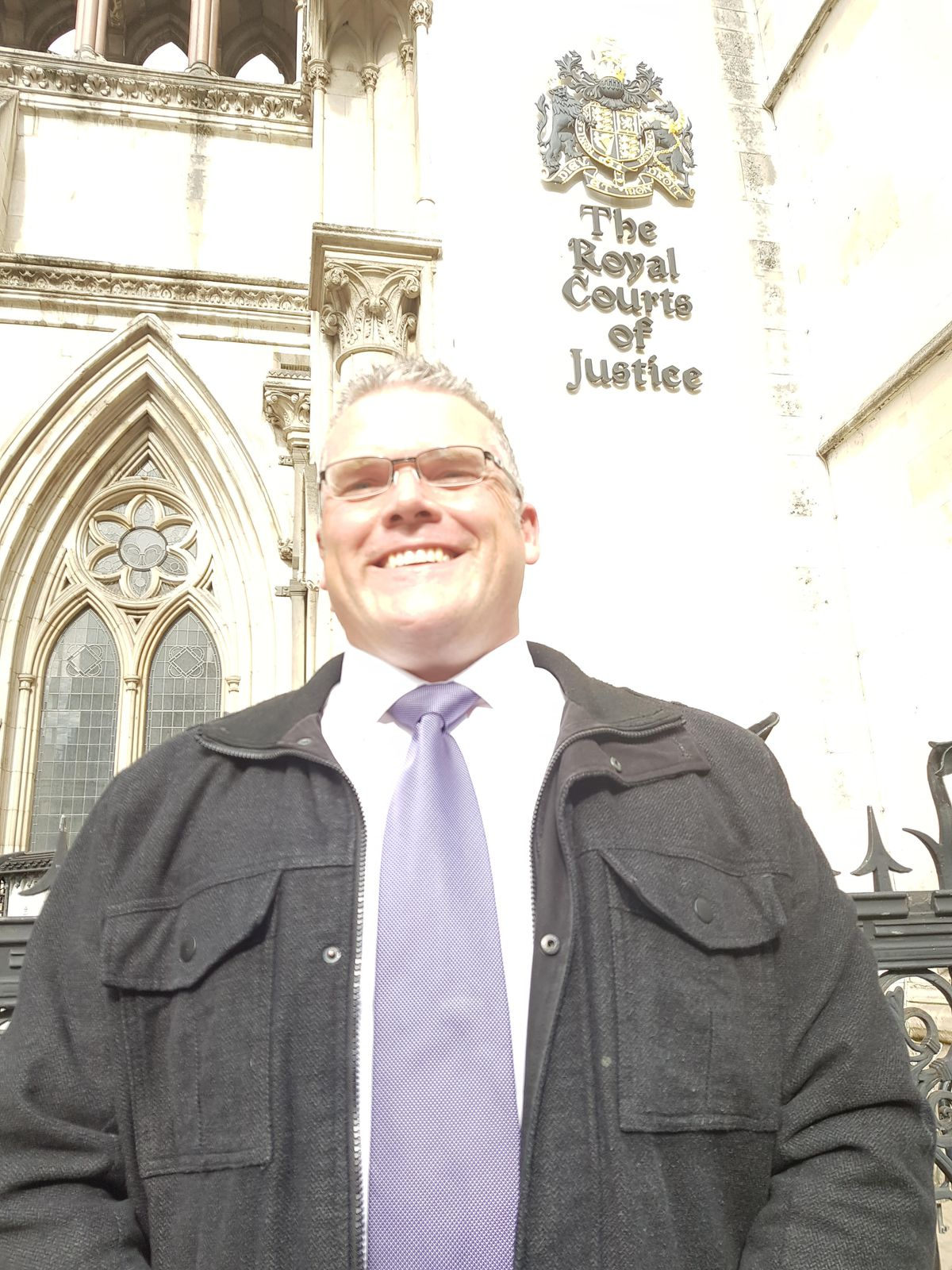 Jeremy at the High Court