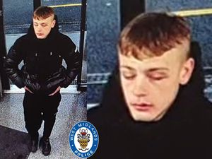Police have released an image of a man they'd like to speak to following the stabbing in Darlaston. Photo: West Midlands Police