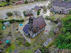 Weather warnings bring fresh misery to residents of flood-hit town