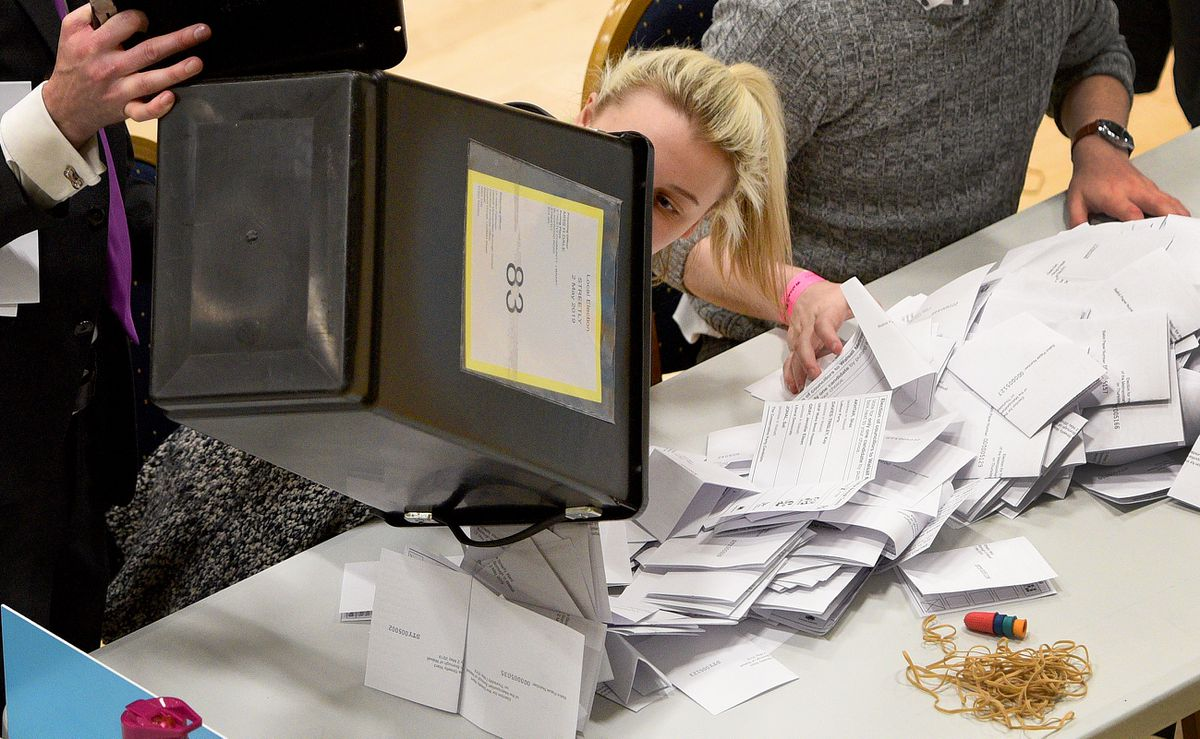 Votes will be counted and announced from Thursday night through to Saturday afternoon