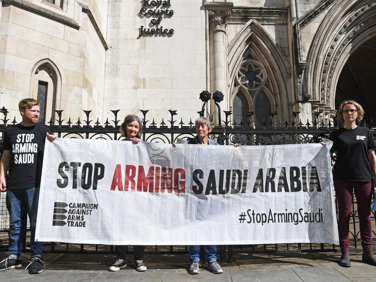 Arms exports to Saudi Arabia court case