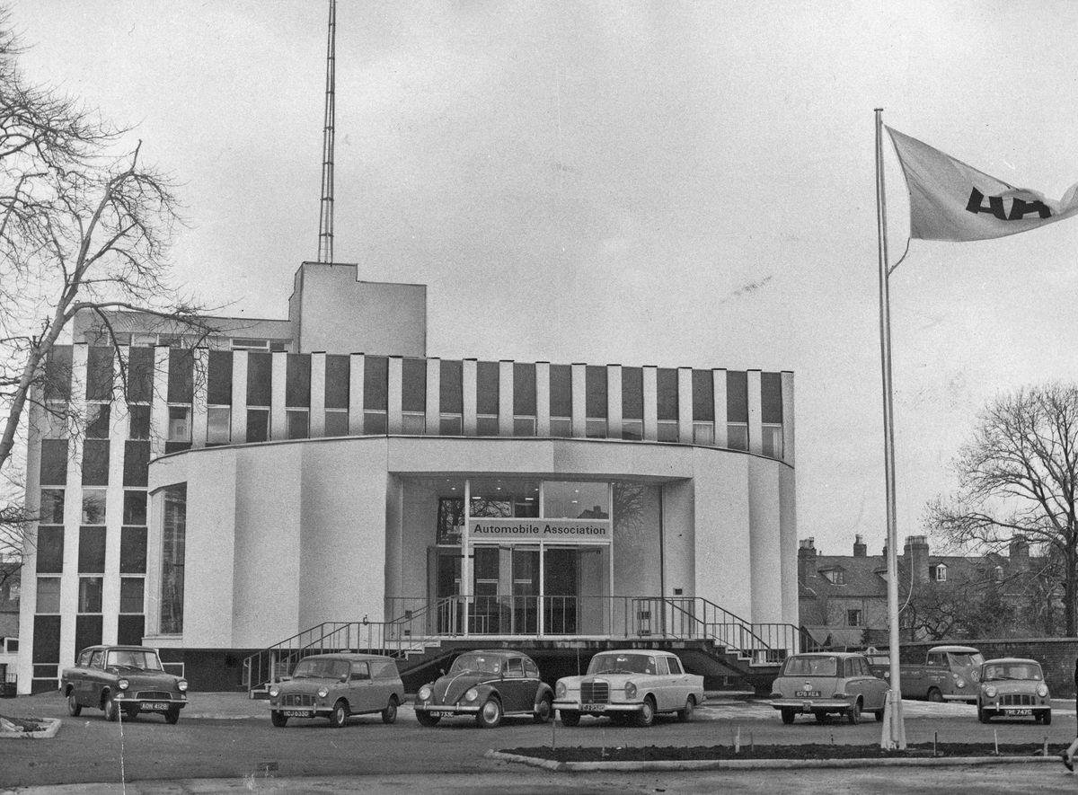 New AA offices at Hagley Road, Birmingham, 1966.