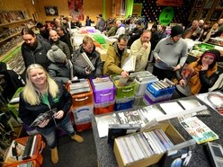 Record Store Day: Collectors queue for vinyl deals