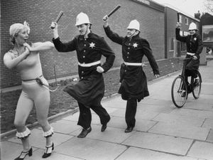 The Keystone Cops make a rare appearance in Wolverhampton
