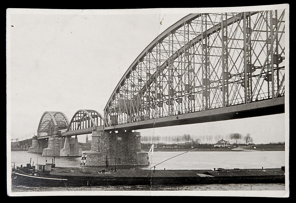 The Nijmegen Bridge, Netherlands, which the original owner of the watch was trying to blow up