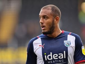 Kenneth Zohore of West Bromwich Albion.