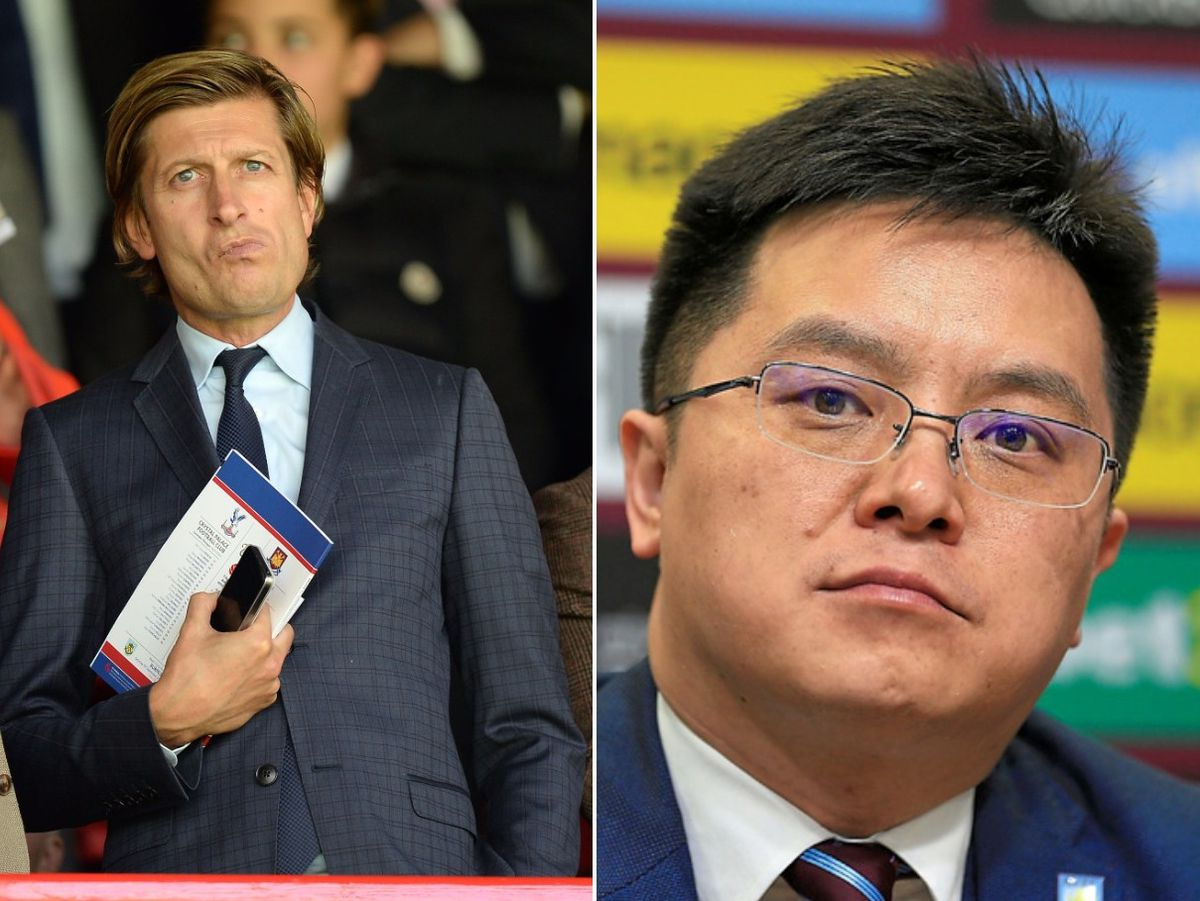 Tony Xia and Steve Parish's tweets have both come under scrutiny from Johnny Phillips.