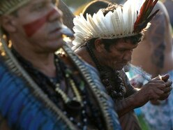 Indigenous Brazilians pitch tents near Congress in annual protest