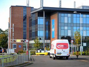 The laboratory in Wolverhampton