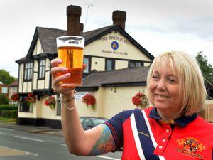 Sharon Osborne is running The Bridge Inn with husband Steven