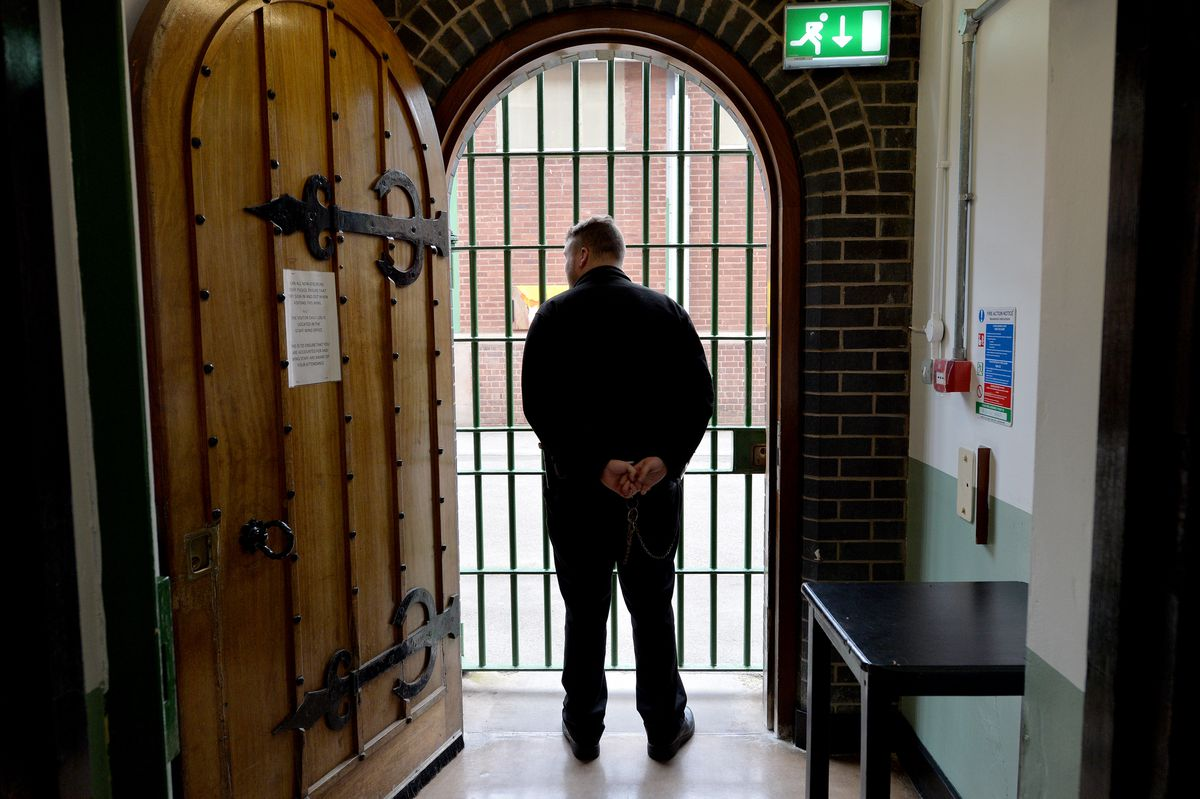 A prison officer at HMP Stafford