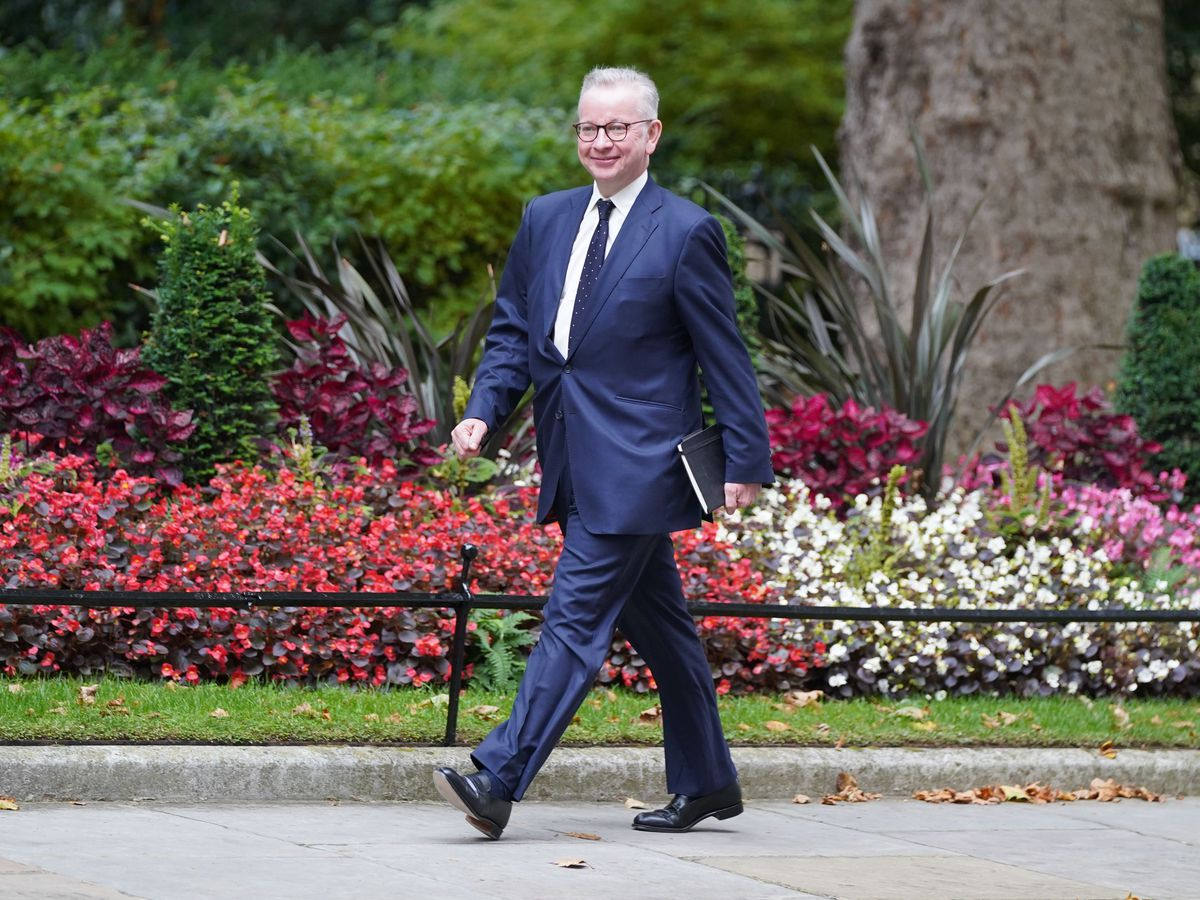 Michael Gove, who has been appointed Housing Secretary, is among the Cabinet members to have attended Oxford or Cambridge Universities (Stefan Rousseau/PA)