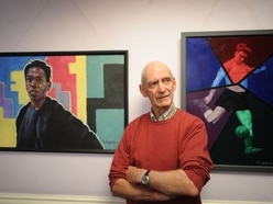 Ron, you're simply the best! Codsall man celebrates music in exhibition
