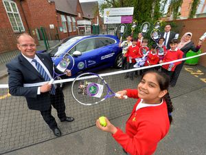 Graisely Primary School, where Jardine Jaguar Land Rover donated tennis equipment to the school