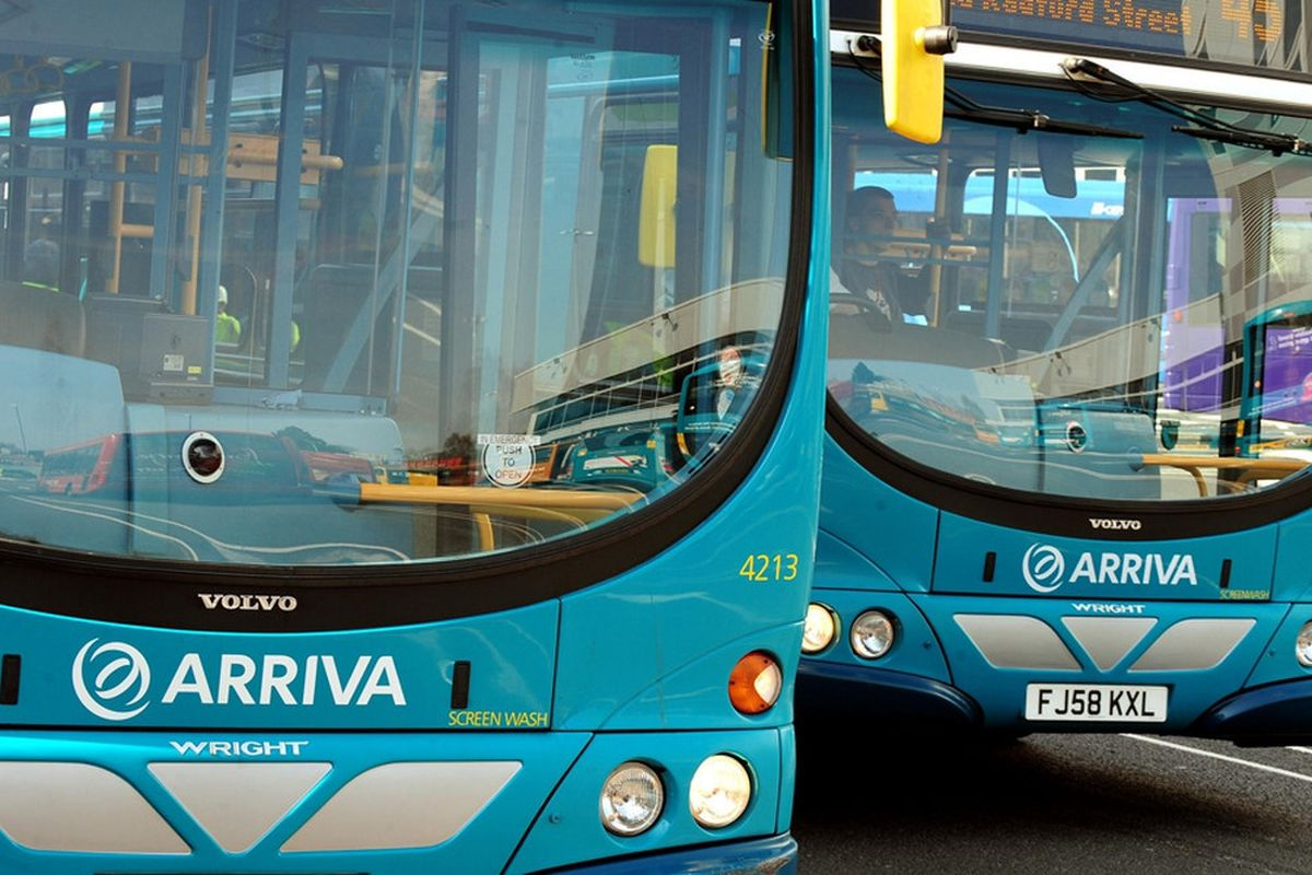Arriva bus services cancelled in Stafford and Cannock