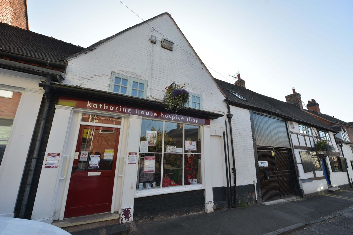 The Katharine House Hospice charity shop in Penkridge