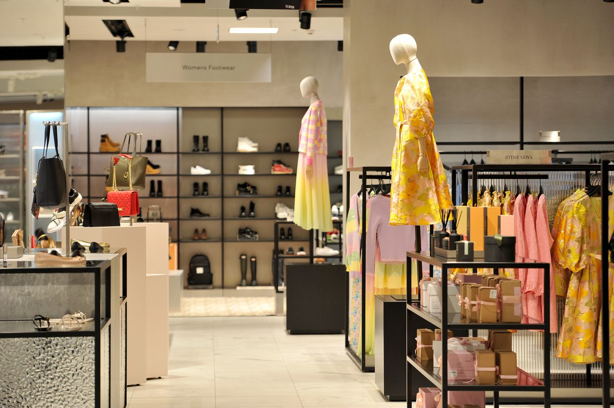 Designer fashions will be central to the Frasers store