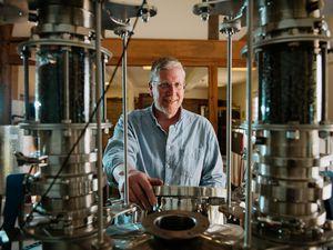 Scott Kirkwood of Kirkwood's Distillery says gin sales just keep growing