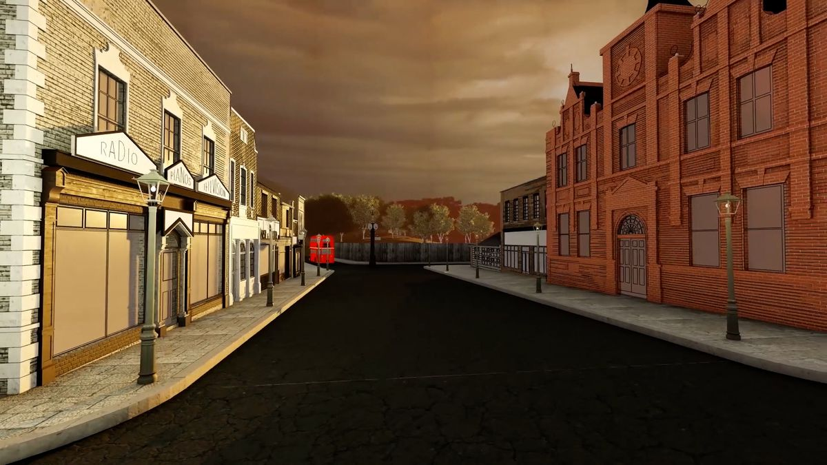 How the main historic street will look