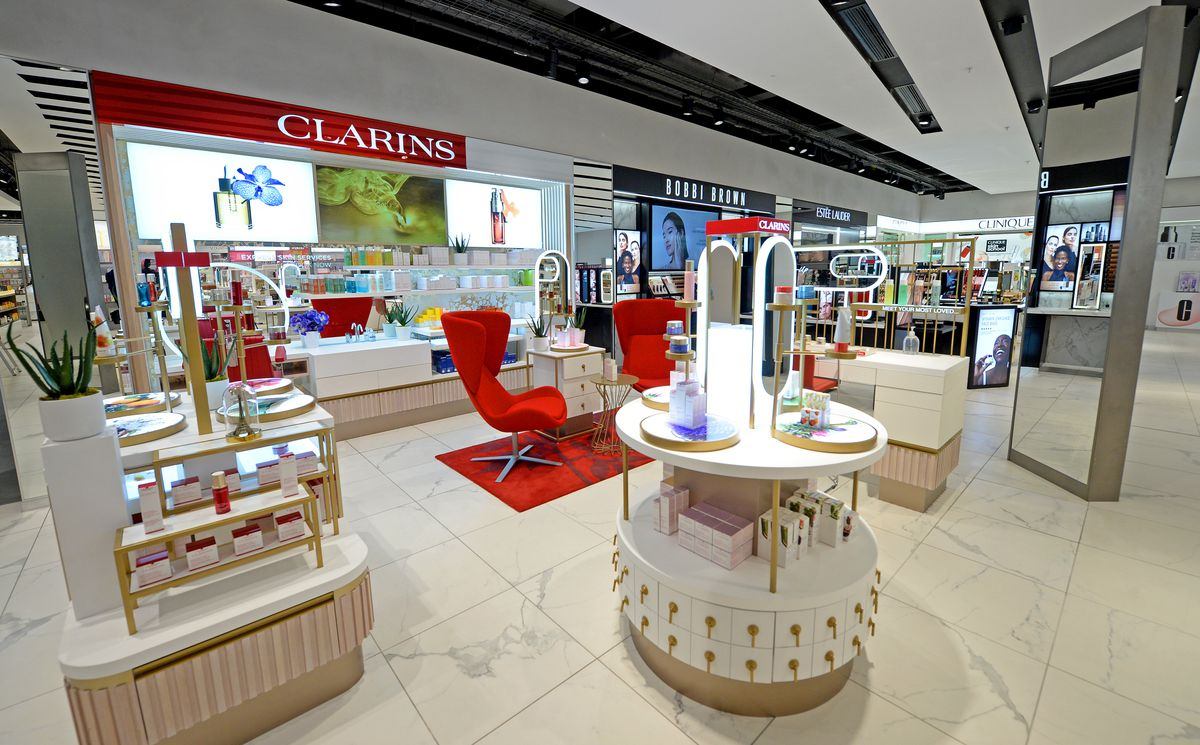 Frasers takes up two floors in the Mander Centre