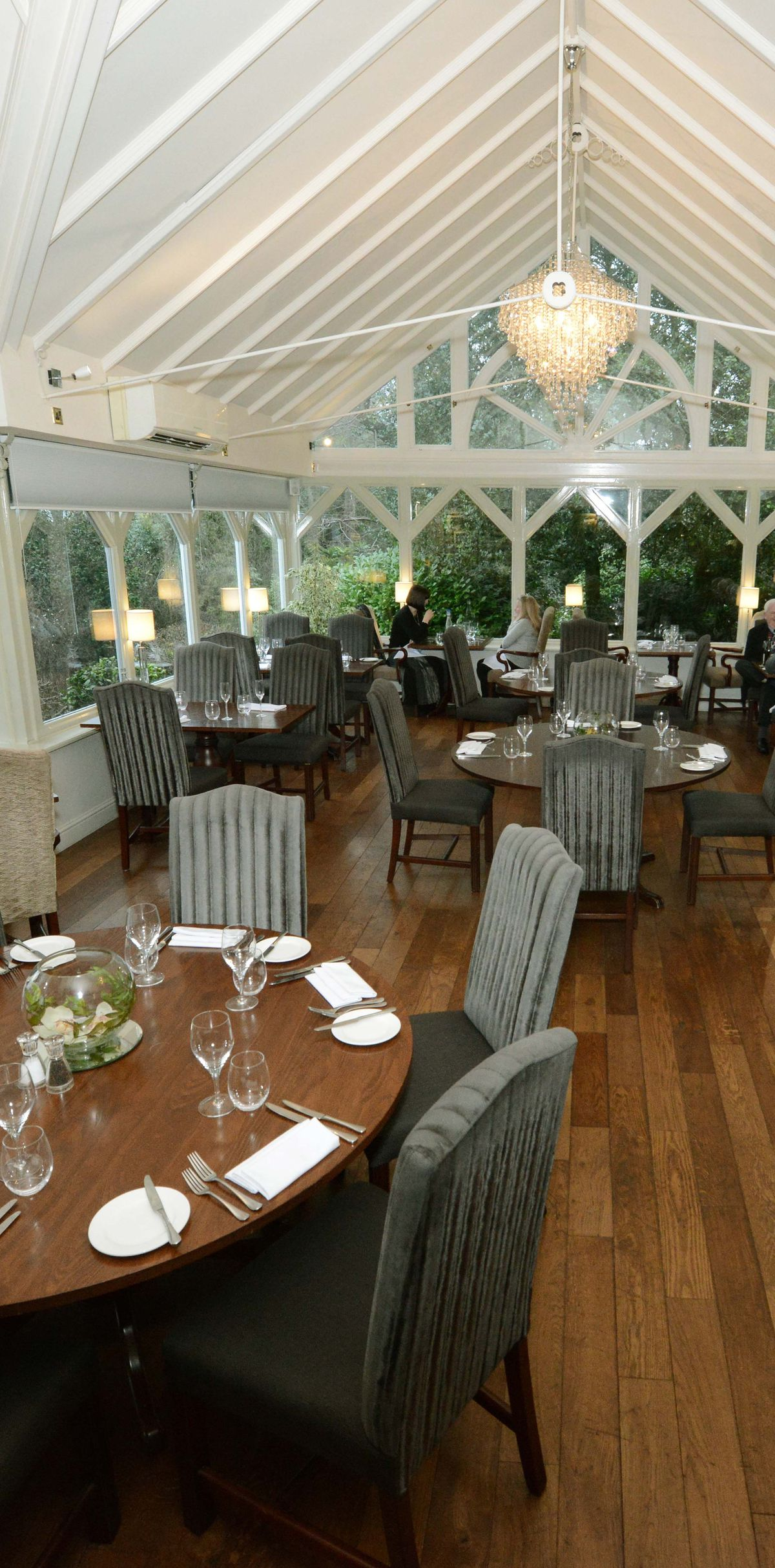 The dining room at The Moat House