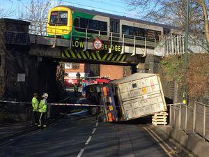 Network Rail make plea as two more train bridges hit by trucks
