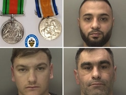 'Crime tourists' who stole war medals and piggy bank jailed for three-month crime spree