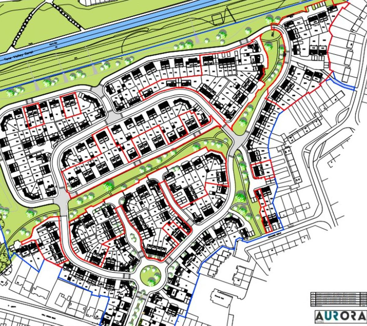 The future of hundreds of homes in West Bromwich are in doubt if Aurora Living Ltd ceases trading. Credit Sandwell Council