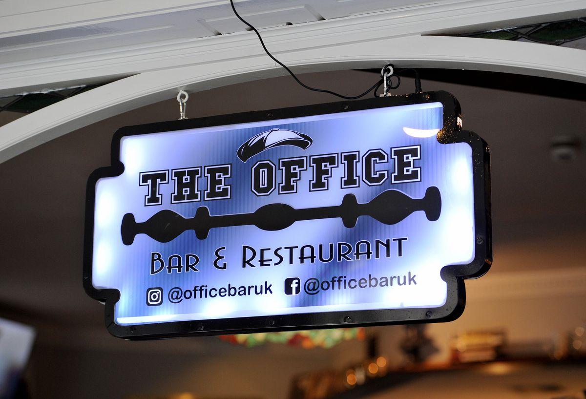 Inside Peaky Blinders-themed The Office Bar & Restaurant