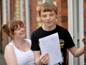 Ben Baddeley from Silverdale in Newcastle-under-Lyme has been celebrating after receiving his exam results. His mum Amy described him as inspirational