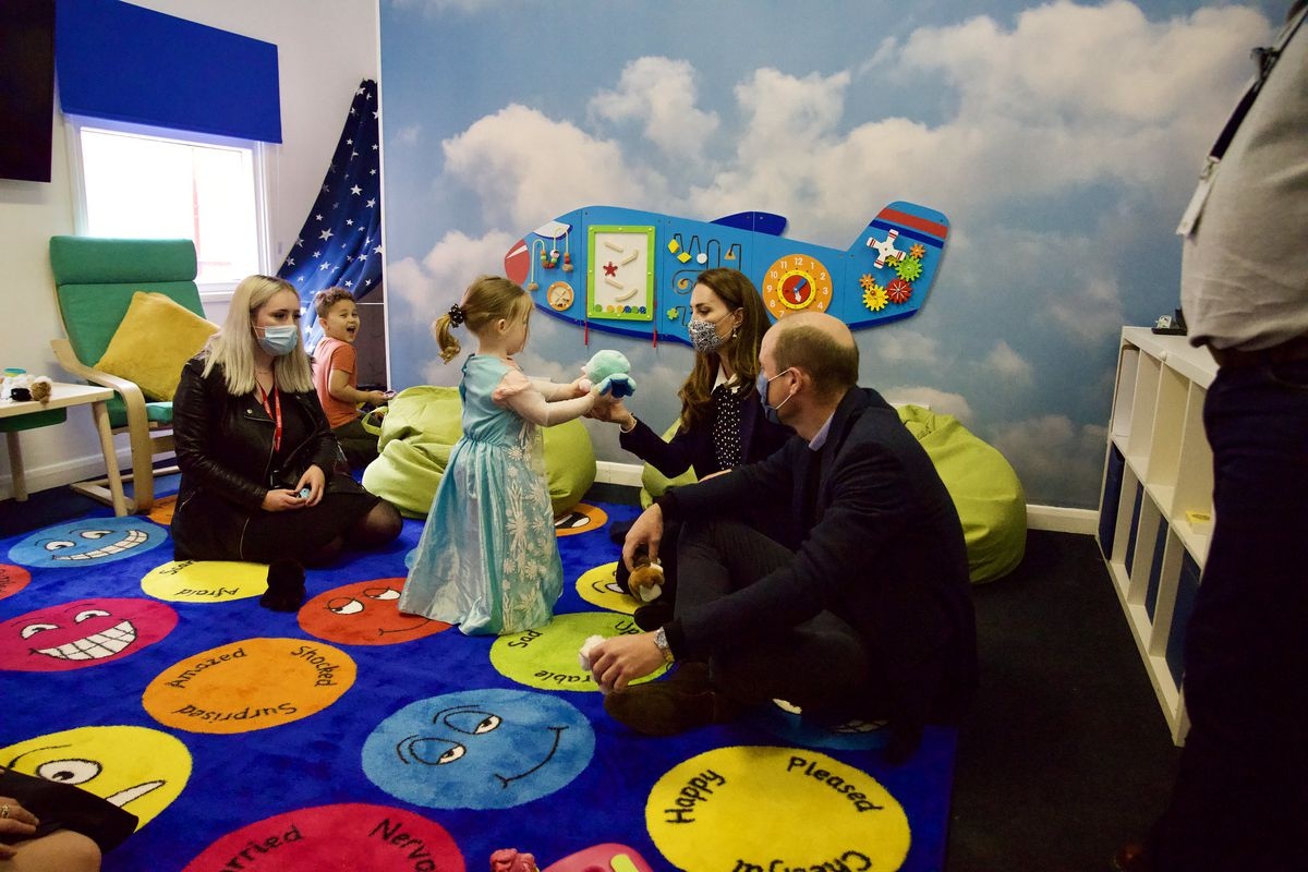 The Duke and Duchess of Cambridge visited Base25
