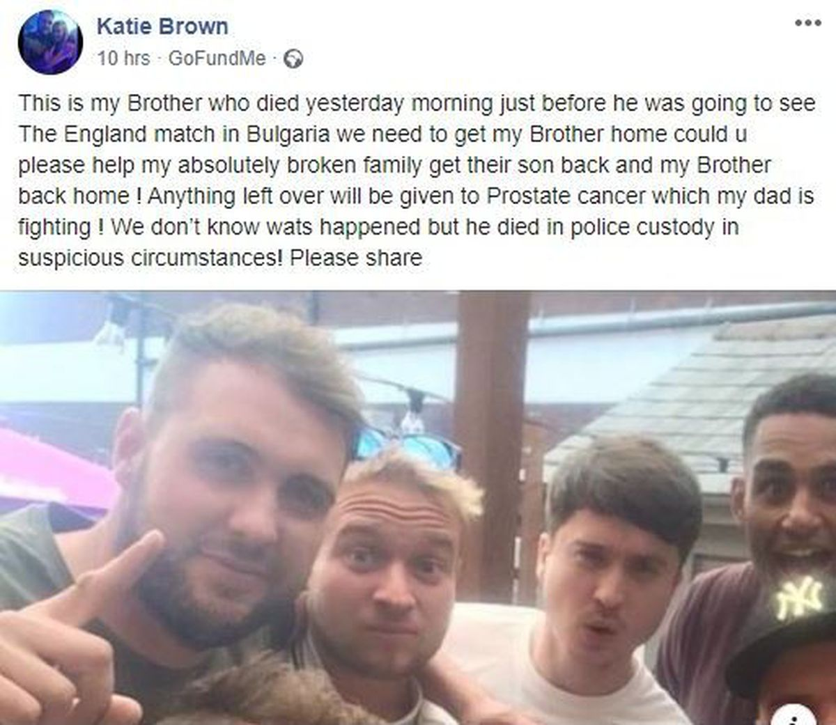 """Katie Brown said her family were """"absolutely broken"""""""