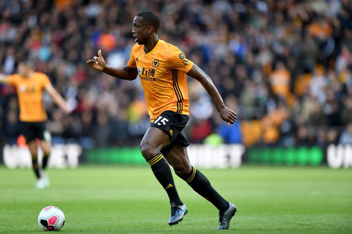 Willy Boly of Wolverhampton Wanderers. (AMA/Sam Bagnall)