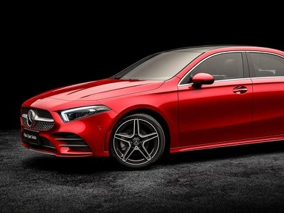 Mercedes A-Class Saloon revealed ahead of Beijing Motor Show