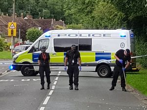 Police searching Yew Tree Lane in Tettenhall